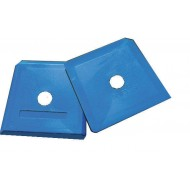 SPATULE A JOINT SILICONE BLEUE