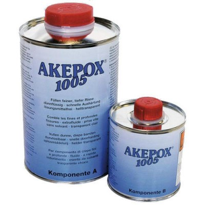COLLE EPOXY AKEPOX 1005 TRANSPARENT FLUIDE