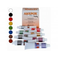 ASSORTIMENT TUBES COLORANTS 30 ML POUR COLLE EPOXY