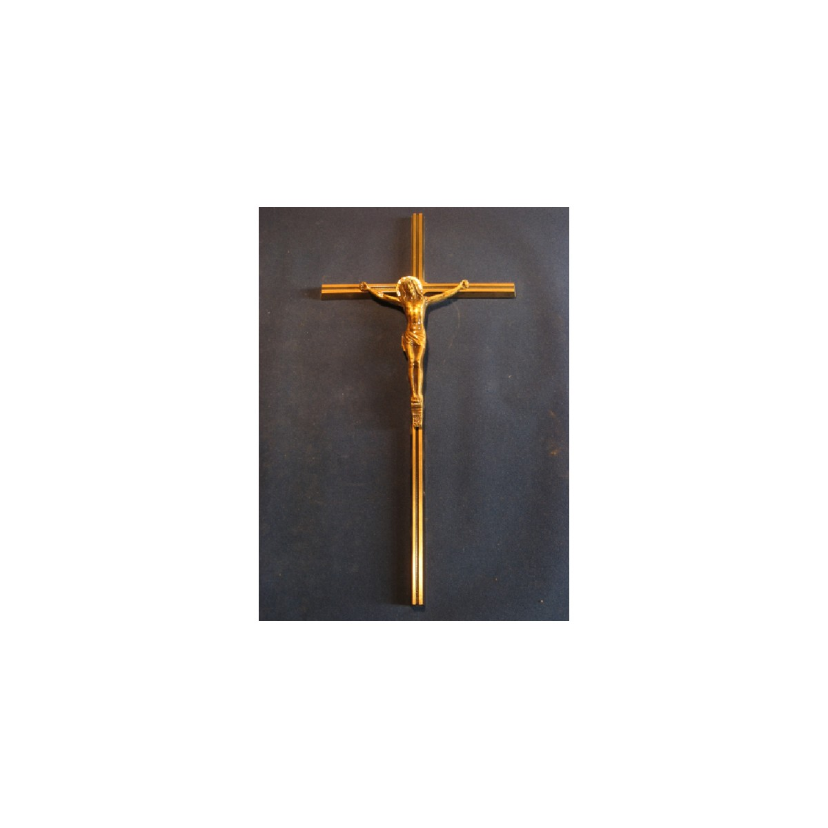 CROIX BRONZE CHRIST 402A